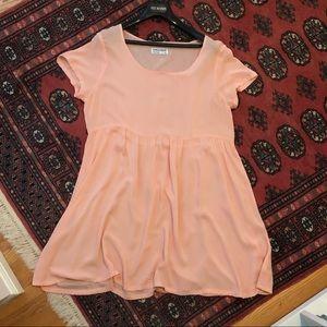 American Apparel Short Sleeved Flowy Dress